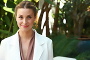Whitney Port opted for a more natural shade of pink for her lips while attending a launch party.