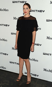 Lola Schnabel opted for a basic LBD for her classic and chic look at the Whitney Museum Annual Art Party.