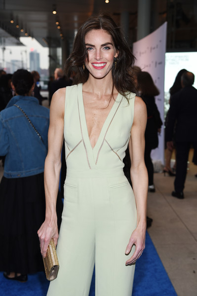 More Pics of Hilary Rhoda Jumpsuit (3 of 8) - Suits Lookbook - StyleBistro [fashion model,clothing,fashion,dress,shoulder,beauty,hairstyle,neck,premiere,long hair,whitney museum celebrates annual spring gala,hilary rhoda,whitney museum,new york city,studio party,spring gala]