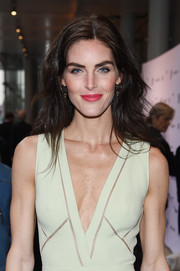 Hilary Rhoda looked stylish with her teased 'do at the Whitney Museum Spring Gala.
