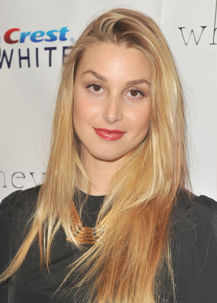 Whitney Port Red Lipstick