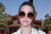 Whitney Port Round Sunglasses