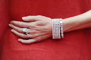 Actress Naomi Watts showed off her decadent jewelry while attending Cannes. Her jewels were a great finishing touch to her look.