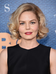 Jennifer Morrison looked cute with her vintage-inspired curled-out bob at the New York premiere of 'The Wizard of Lies.'
