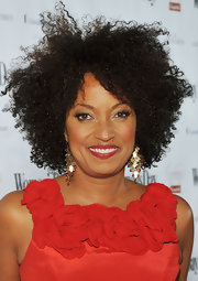 Rene Syler rocked a curly afro at the Women's Day 8th Annual Red Dress Awards.