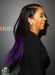 La La Anthony topped off her look with a playfully chic ombre hairstyle when she attended the 'Woman in Gold' premiere.