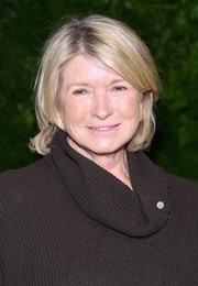 Martha Stewart stuck to her usual bob when she attended the Women's Brain Health Initiative launch.