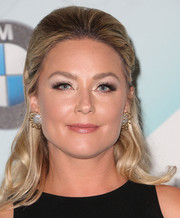 Elisabeth Rohm opted for a classic half-up 'do when she attended the Crystal + Lucy Awards.