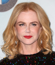 Nicole Kidman was sweetly coiffed with spiral waves at the Crystal + Lucy Awards.