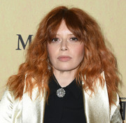 Natasha Lyonne rocked teased waves at the 2019 Women in Film Gala.