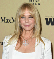 Rosanna Arquette was stylishly coiffed with this layered cut at the 2019 Women in Film Gala.