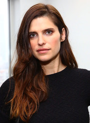 Lake Bell attended the Women's Filmmaker Brunch wearing a casual wavy hairstyle.