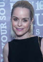 Taryn Manning wore her short hair slicked back during the Party Under the Stars.