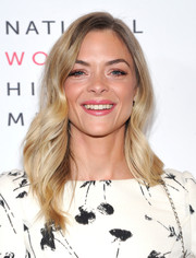 Jaime King looked pretty with her feathered flip at the Women Making History Awards.