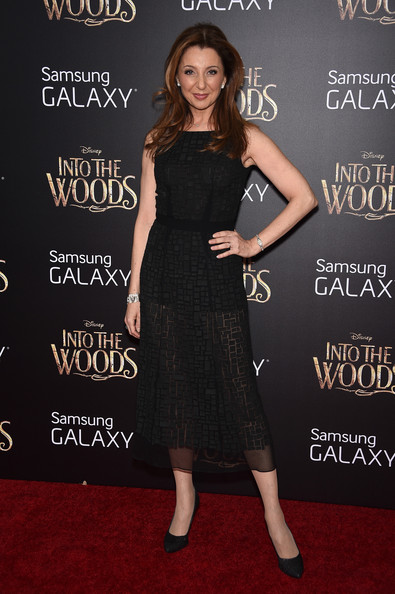 Donna Murphy was classic in a textured LBD during the 'Into the Woods' premiere. The sheer skirt added a contemporary spin.