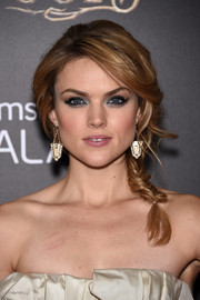 Erin Richards got into the fairytale mood with this romantic braid during the premiere of 'Into the Woods.'