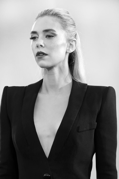 More Pics of Vanessa Kirby Pantsuit (1 of 45) - Vanessa Kirby Lookbook - StyleBistro [the world to come,image,photograph,movie,portrait,hair,face,white,black,beauty,hairstyle,blond,model,lip,black-and-white,red carpet,hair,red carpet,hair,77th venice film festival,photograph,black and white,photo shoot,fashion,portrait -m-,monochrome,long hair,portrait,model m keyboard,hair]