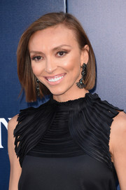 Giuliana Rancic wore her hair in a sleek bob at the premiere of 'Maleficent.'