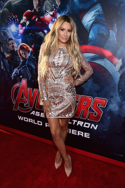 Desi Perkins What Celebs Wore To The Avengers Age Of