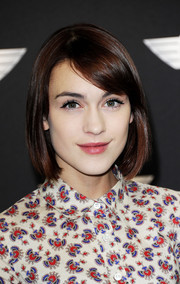Ella Catliff looked sweet and classic with this bob at the new Mini world premiere.