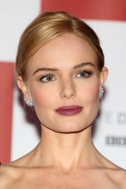 Kate Bosworth wore a classic French twist when she attended the world premiere of 'SS-GB.'