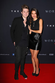 Rhiannon Fish kept it simple at the 'World War Z' Australian premiere with this LBD and black platform pumps combo.