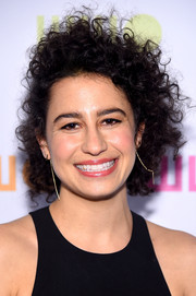 Ilana Glazer styled her hair in a curly updo at the Worldwide Orphans 11th Annual Gala.