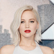 Jennifer Lawrence's Platinum Locks