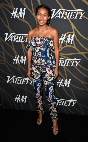 Yara Shahidi Evening Sandals