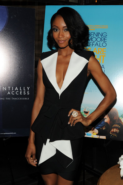Yaya DaCosta Hair