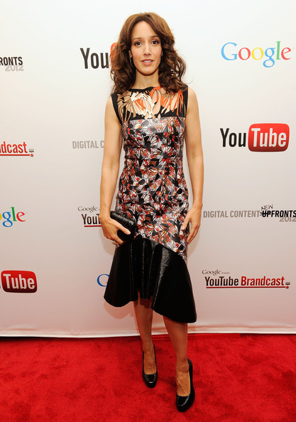 More Pics of Jennifer Beals Long Curls (1 of 13) - Jennifer Beals Lookbook - StyleBistro