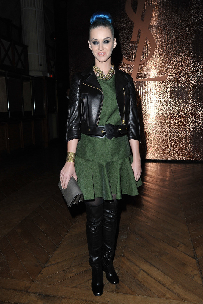 More Pics Of Katy Perry Leather Jacket 9 Of 16 Katy