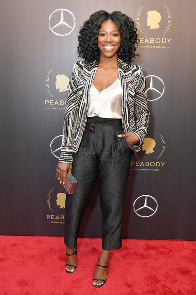 Yvonne Orji High-Waisted Pants