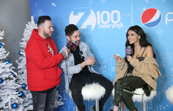 More Pics of Madison Beer Faux Fur Coat (4 of 13) - Outerwear Lookbook - StyleBistro [fun,event,talent show,leisure,performance,arrivals,madison beer,john stessel,new york city,hammerstein ballroom,z100,jingle ball 2018,mo bounce]