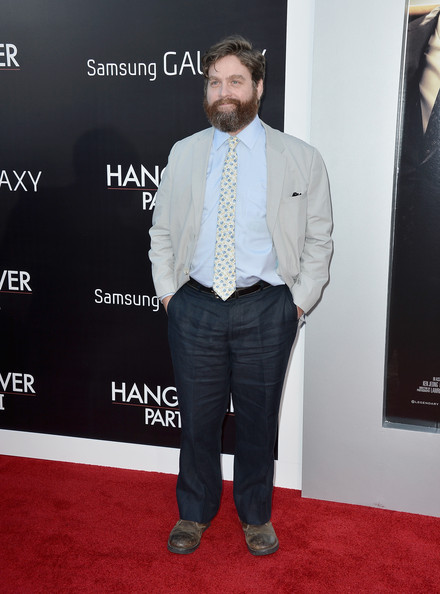 Zach Galifianakis Clothes