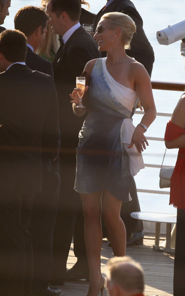 Zara Phillips One Shoulder Dress Zara Phillips Looks