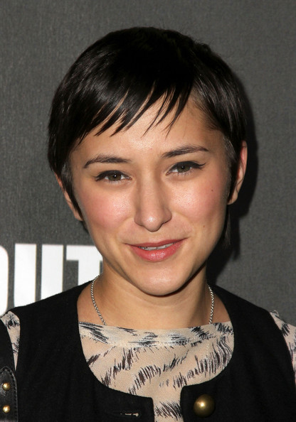 Zelda Williams Pixie [the call of duty: black ops,hair,face,hairstyle,eyebrow,chin,bangs,forehead,bob cut,black hair,lip,zelda williams,arrivals,santa monica,california,activision,launch party]