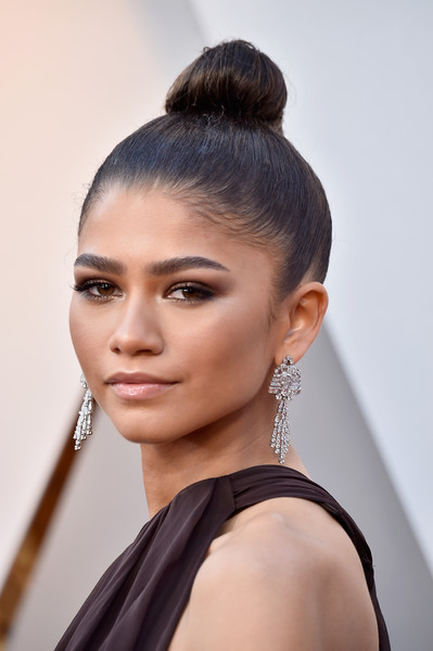 Zendaya Coleman Diamond Chandelier Earrings