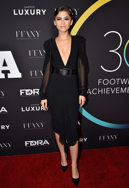 Zendaya Coleman Little Black Dress