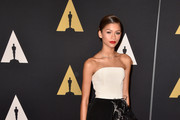 Zendaya Coleman Strapless Dress