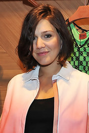 Margherita Missoni attended the ZigZagging event wearing her hair in a slightly messy bob.