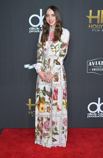 Zoe Kazan Shirtdress