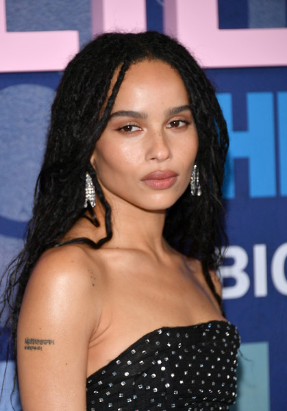Zoe Kravitz Dreadlocks [big little lies,season,hair,hairstyle,eyebrow,black hair,beauty,long hair,shoulder,premiere,layered hair,brown hair,zoe kravitz,jazz,new york city,lincoln center,premiere]