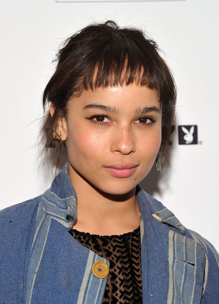 Zoe Kravitz Retro Eyes