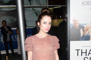 Zoe Lister Jones Ruffle Blouse