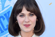 Zooey Deschanel Bob