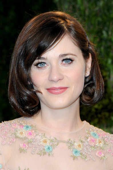 Zooey Deschanel Gemstone Studs