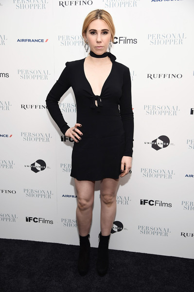 Zosia Mamet Little Black Dress