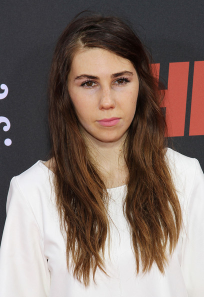 Zosia Mamet Long Side Part