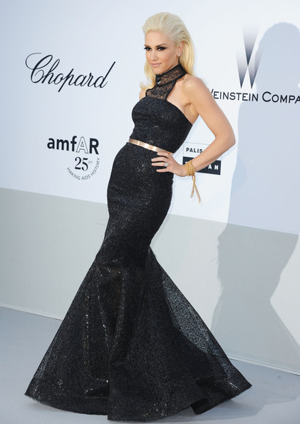 Gwen+Stefani in amfAR Gala - Red Carpet Arrivals - 64th Annual Cannes Film Festival